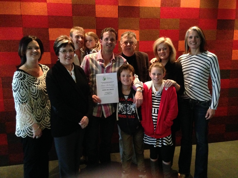 Shane McInerney's family