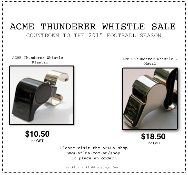 Whistle sale