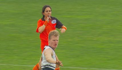 Female umpire could make AFL history – AFLUA